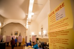 Municipal elections in Nome take place at Old St. Joe's on Tuesday, October 3rd.