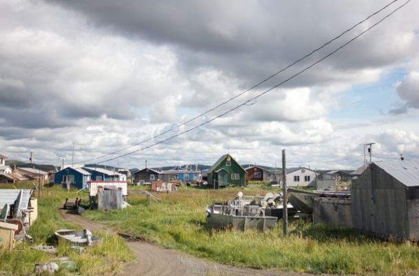 Unalakleet in the fall of 2014. Photo: Caitlin Whyte, KNOM file.