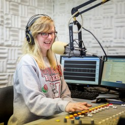 May 2015: Caitlin Whyte in the studio