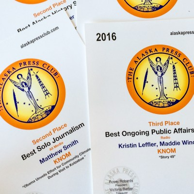 2016 Alaska Press Club Awards