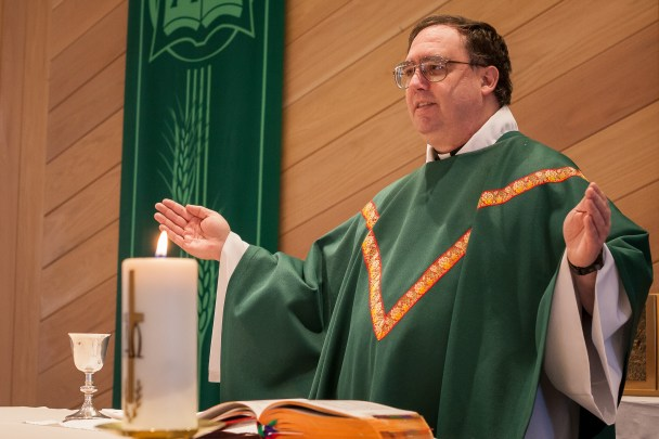 Father Ross Tozzi, formerly the pastor of St. Joseph Catholic Church in Nome, spearheaded the creation of the Chaplet of Divine Mercy recordings.