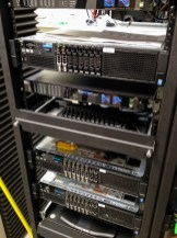 Digital studios hardware racks