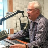 Ric Schmidt on the air in the digital studios