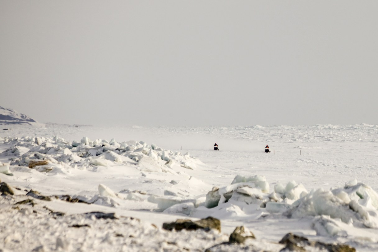 Minnick and Olstad Approach Nome