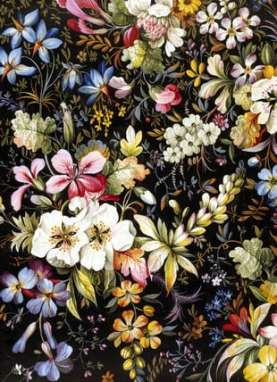 Beautiful baroque inspired wedding flowers