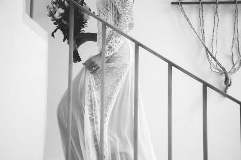 Grace Loves Lace bridal style with boho luxe sensibility