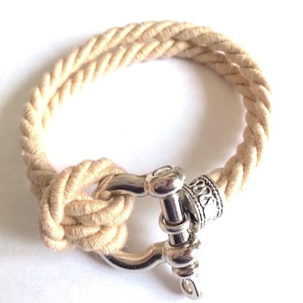 Admiral shackle bracelet