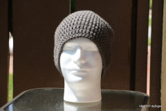 Men's Ash-Lead Beanie