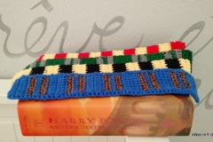 Harry Potter-Hogwarts House Scarf Bookmark