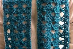 Blue-Black Angel Scarf