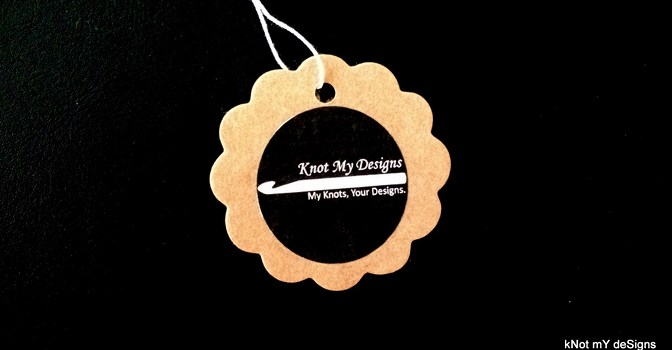 Knot My Designs - Tagging and Shipping