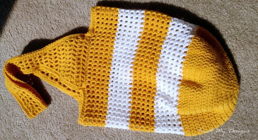 Crochet Sunshine Market Bag Knot My Designs
