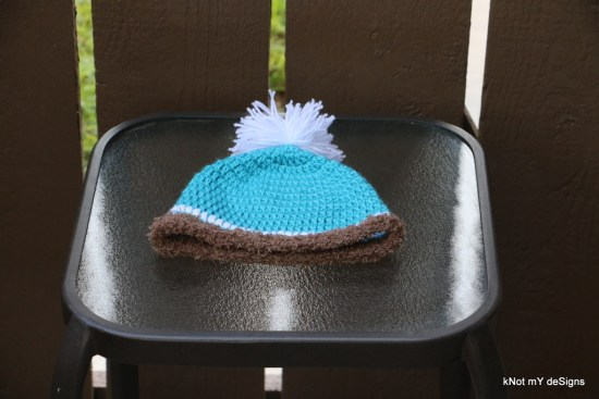 Winter/Fall Seasoned Crochet Toddler's Furloop Beanie Free Pattern - kNot mY deSigns