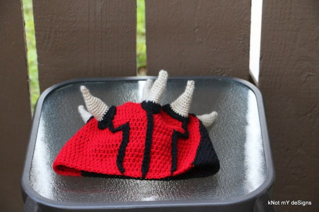 Crochet Adult Star Wars Darth Maul Beanie Free Pattern - kNot mY deSigns