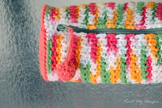 Crochet This N That Zipped Pouch Free Pattern - Knot My Designs