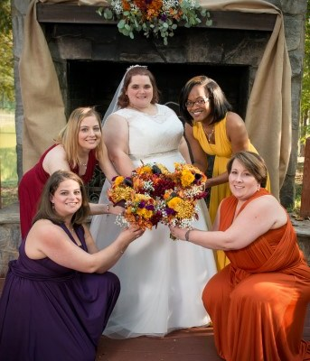 Outdoor Ceremony Fall Colors