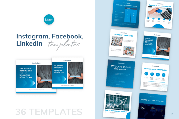 Instagram Facebook LinkedIn Templates Graphics Know About Web