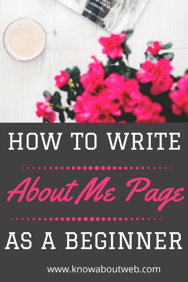 You are currently viewing 10 Steps To Write SEO Optimized About Me Page