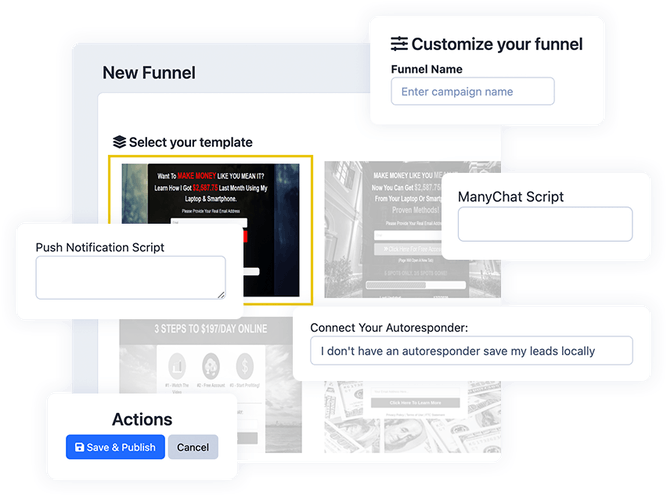 funnle features funnel mail suite