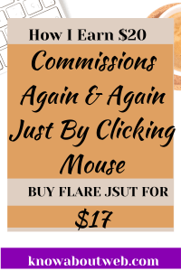 Read more about the article Flare Review – Earn $20+ Immediately When Someone Clicks Their Mouse
