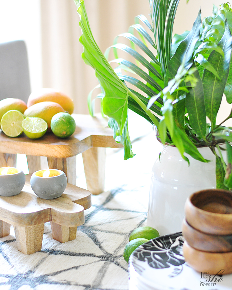 Summer inspired dining table