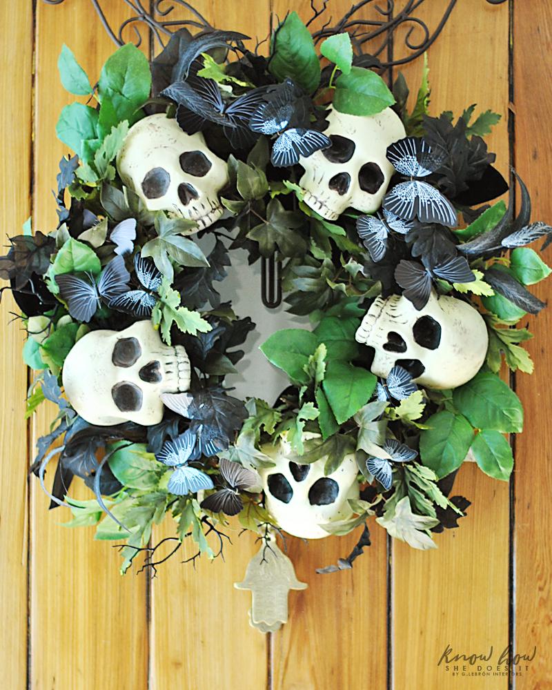 Skull wreath 2