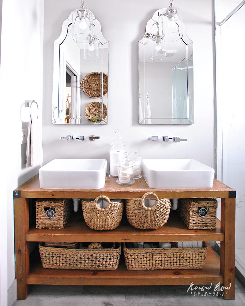 Spring Ready Bathroom Organization Tips
