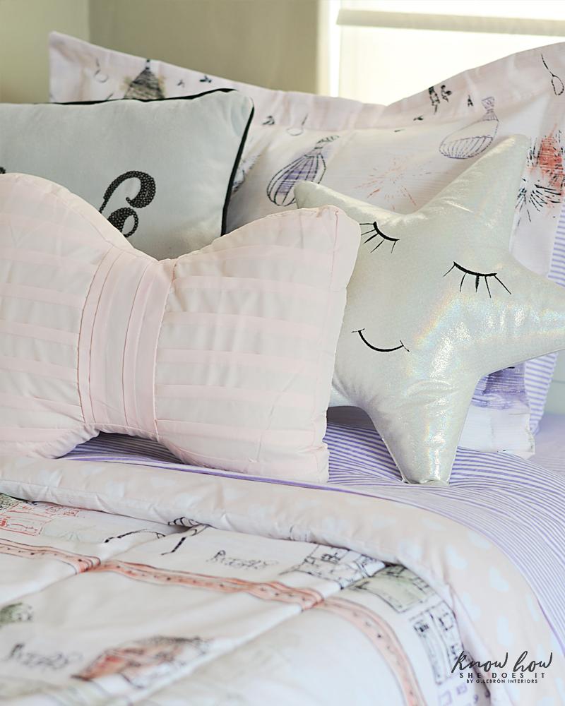 Bringing Happiness Girls Room pillows 1
