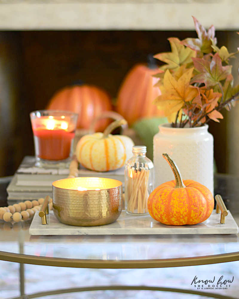Affordable Fall Room Refresh Coffee Table 2
