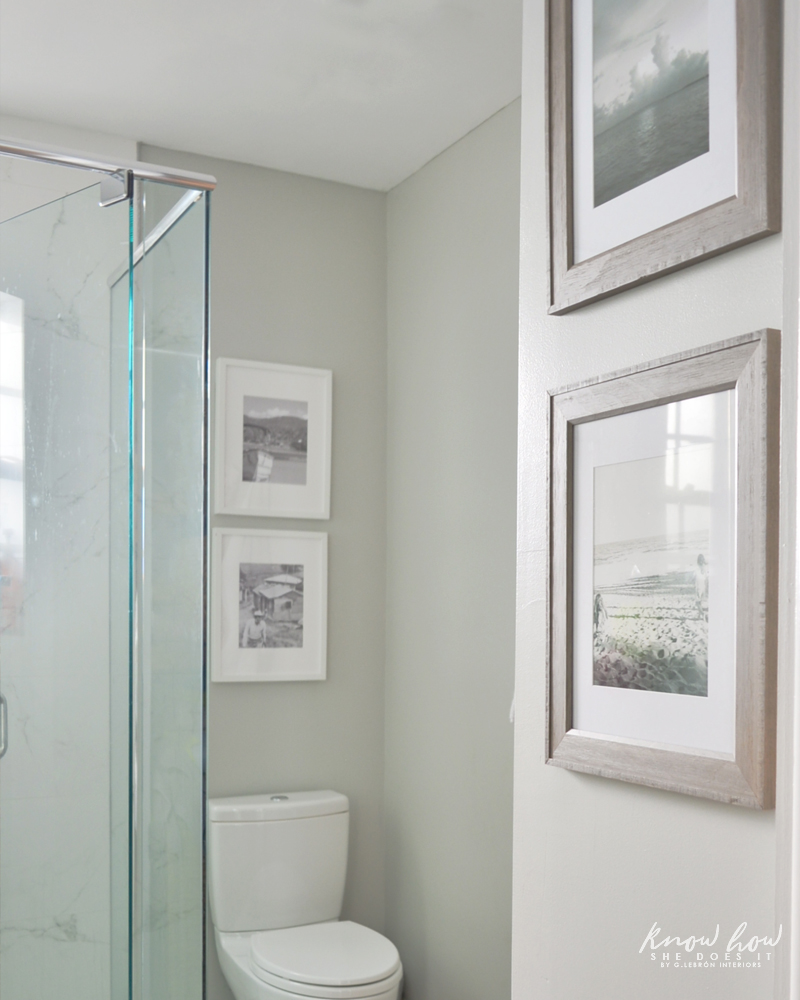 4 budget friendly tips to refresh your bathroom frames