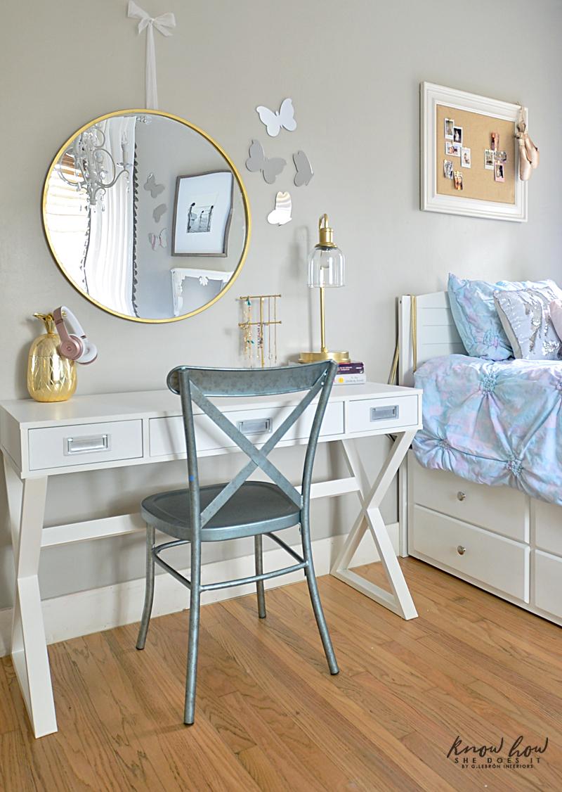 Kids Bedroom Refresh Tips Desk Area 1