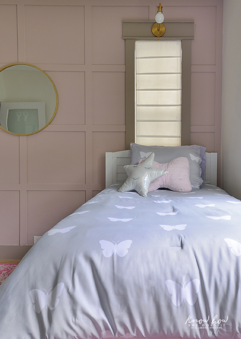 Project Color App Girl's Bedroom Bed