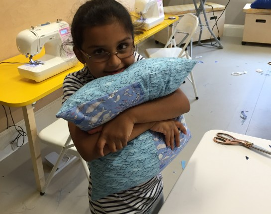 Sewing-Class-Patchwork-Cushion