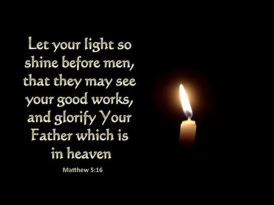 Matthew 5:16 - Verse of the Day