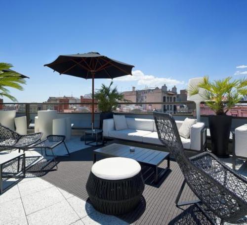terraza hotel claris