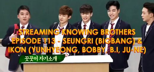 Knowing-Brothers-113-Seungri-Big-Bang-iKON-Yunhyeong-Bobby-B.I-Ju-ne