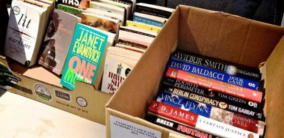 TKG SUMMER BOOK SALE – Torrance Farmers Market, Tomorrow