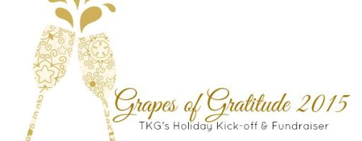 Special Event & Fundraiser – Grapes of Gratitude on Sat 14 Nov 2015