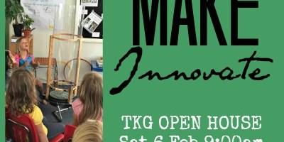 Enrollment Open House & MakerFair – Sat 6 Feb