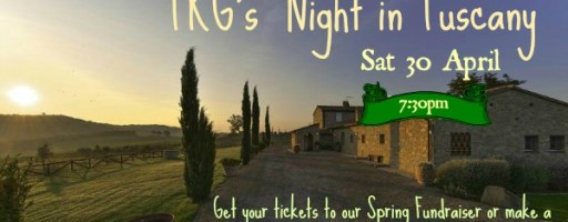 TKG's Spring Fundraiser – April 30th, 2016