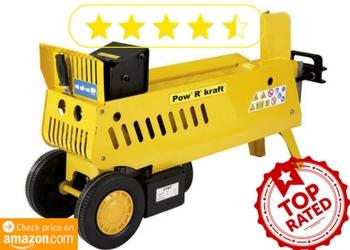 Pow' R' Kraft 65575 7-Ton 15 amp 2-Speed Electric Log Splitter