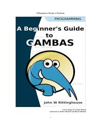 How to Gambas