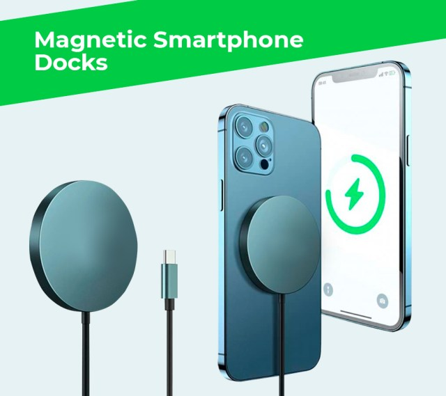 Magnetic smartphone