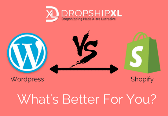 wordpress or shopify what is best