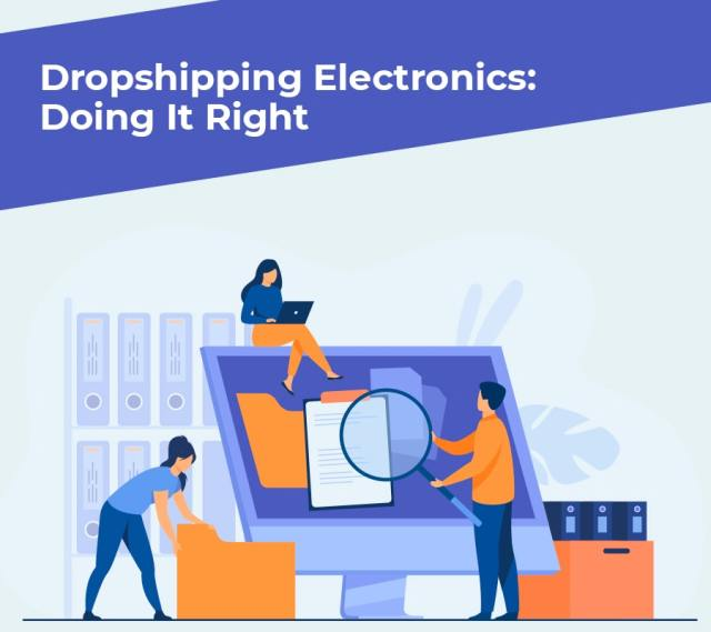 Dropshipping electronics industries min