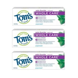 Toms of Maine Whole Care Natural Toothpaste