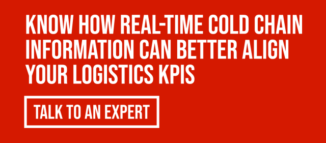 better cold chain logistics with visibility