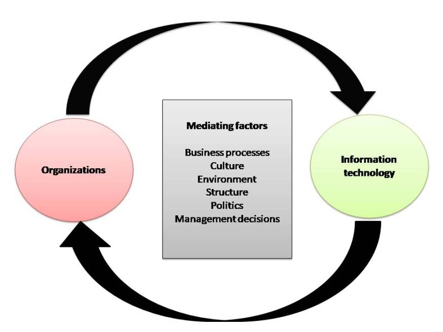 information technology and organisation