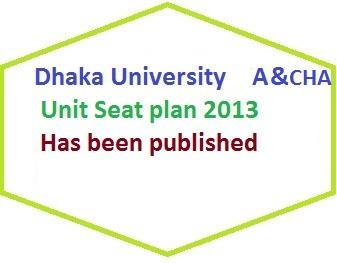 du a unit seat plan 2013