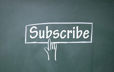 Subscription form in blogging tips